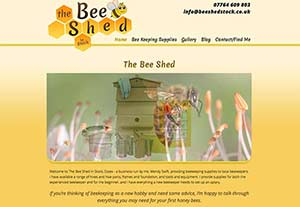 The Bee Shed Stock by Chelmer Web Design