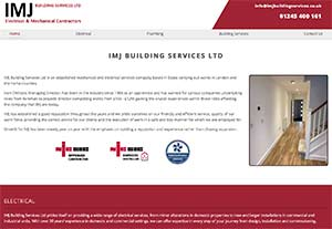 IMJ Building Services by Chelmer Web Design